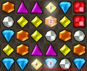Bejeweled game tip 2