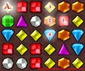 Bejeweled game tip 6