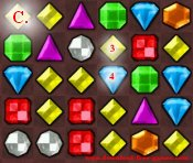 Bejeweled game tip 6c