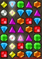 Bejeweled game tip 7