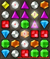 Bejeweled game tip 8